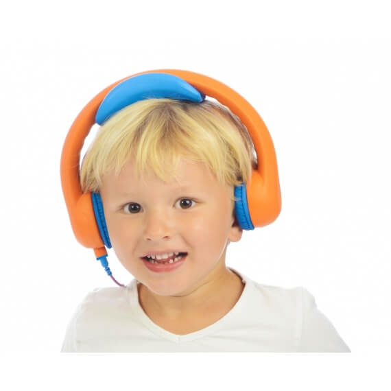 KidsCover_headset_oranje_kind