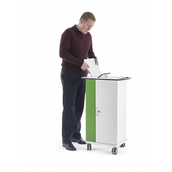 Zioxi Tablet Sync Trolley 16, Laptop compartiment Docent